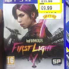Infamous first light £9.99 @ Smyths