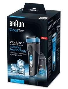 Braun CoolTec CT2cc Electric Shaver with Active Cooling Technology and Cleaning Centre RRP £229 Now £99 @ Amazon