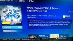 FFXIV - A Realm Reborn 14 day free trial (PS PLUS) PS4 + PS3 Download