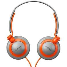 Sony MDRXB200D Overhead Extra Bass Headphones - Orange/Grey - £15.99 @ 7dayshop