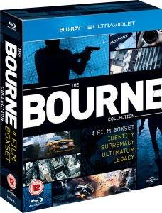 The Bourne Collection on Blu-ray (Includes UltraViolet Copy) £9.99 @ Zavvi