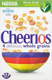 Nestle Cheerios (375g) was £2.48 now £1.24 @ Morrisons