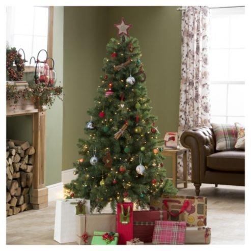 Evergreen Fir 6ft Christmas Tree now £3.75 @ Tesco Direct