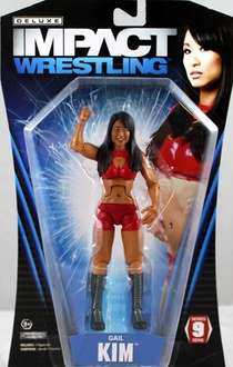 TNA Deluxe Impact Series 9: Gail Kim £4.99 Sold by a1 Toys and Fulfilled by Amazon.