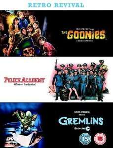 The Goonies/Police Academy/Gremlins DVD (New) @ Amazon/Zoverstocks £2.49 + £1.26 delivery