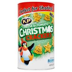 kp cheese and tomato christmas crackers ONLY 99p @ homebargains