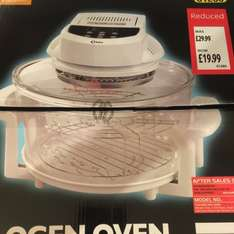 Delta halogen oven reduced at aldi £19.99