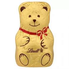 3 Lindt Gold Bears (10g) for £1 or 50p each @ Tesco