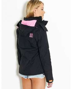 superdry arctic hooded windcheater - only size xl left £40 @ bankfashion