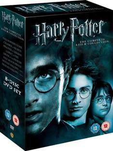 Harry Potter - The Complete 8-Film Collection [DVD] [2011] £18.00 & FREE Delivery in the UK. Dispatched from and sold by Amazon.