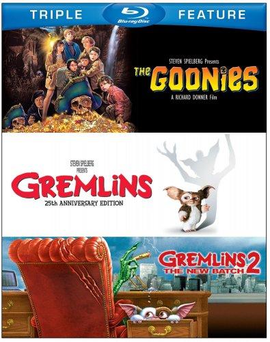 The Goonies / Gremlins / Gremlins 2 Blu Ray (Region Free) £10.88 @ Amazon.com