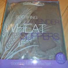 Lavender wheat slippers down to £1.99 in B&M