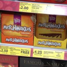 BOGOF Honeycomb Matchmakers Tesco £1.25 for 2 boxes - just over 60p a box!
