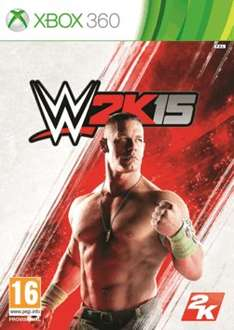 WWE 2K15 XBOX 360 & PS3 £19.99 @ Game