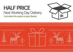 Half Price Next Working Day Delivery @ Novatech [Until Christmas]