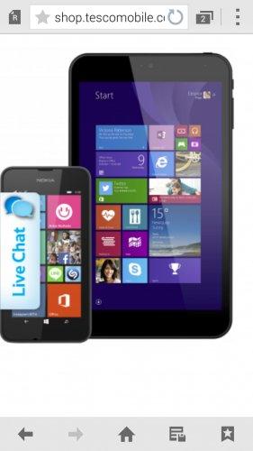 free tablet with Nokia lumia 530 £12.50 pm @ Tesco Mobile