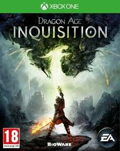 Dragon Age Inquisition Xbox One and Ps4 £37.85 @ Amazon