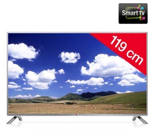 """LG47LB630V - 47"""" Full HD, LED, Smart TV - USBx3, HDMIx3, 500Hz £399.99 @ Pixmania"""