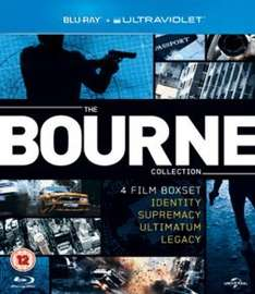 The Bourne Collection (Blu Ray & UV) £10 Delivered @ Game & Amazon