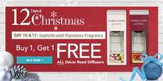 Yankee Candle Reed Diffusers. Buy 1 get 1 Free at Yankee Candle £19.99 + £3.95 delivery