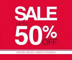 F&F up to 50% off sale