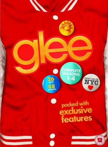 Glee Complete Seasons 1-4 DVD Boxset £22.86 @ Amazon
