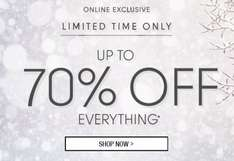 Up to 70% off web exclusive short time only + free del @ Roman originals