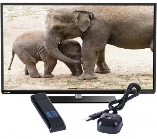 "TOSHIBA 48L3451DB Smart 48"" LED TV with free wifi adaptor and cinema tickets!"