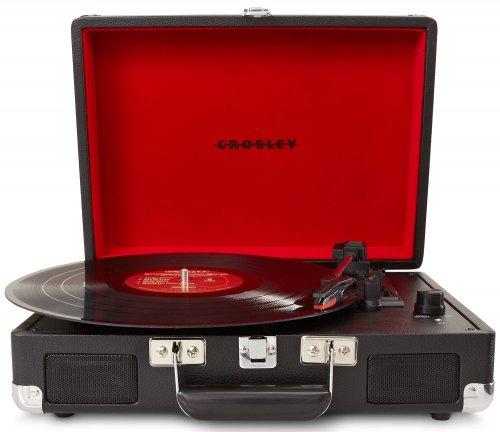 Crosley Cruiser Briefcase Style Three-Speed Portable Vinyl Turntable with Built-In Stereo Speakers black £61.81, Blue £61.80, Orange £62.15 @ Amazon Uk