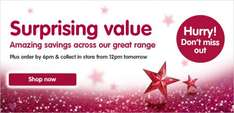Boots £10 off £75 spend online on 3 for 2 gifts today only