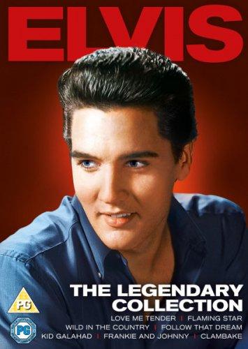 Elvis - The Legendary Collection DVD Boxset.  £12.79 (free p&p) Was £49.99 Save £37.20 @ Zavvi