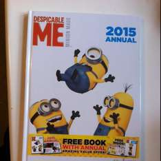 Minion 2015 annual instore at Poundland for £1.00