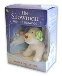 The Snowman and the Snowdog: Book and Toy Giftset £5 @ WHSmith