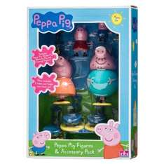 Peppa Pig Figures and Accessory Pack now £4.99 at b&m