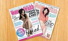 women's Health 12 month subscription £18 from Groupon / Hearst Magazines