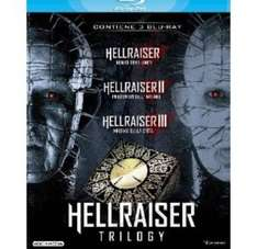 Hellraiser 1,2 and 3. Blu Ray box set £9.99 Sold by d-uk and Fulfilled by Amazon.