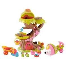 Buy Happyland Forest Fairy Treehouse & Wobble Along Hedgehog for £30 @ Tesco Direct