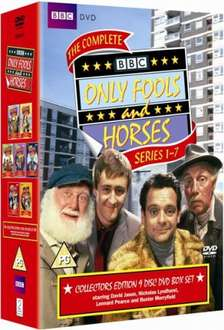 Only Fools And Horses Collectors Edition - Series 1-7 DVD £16.99 at Zavvi