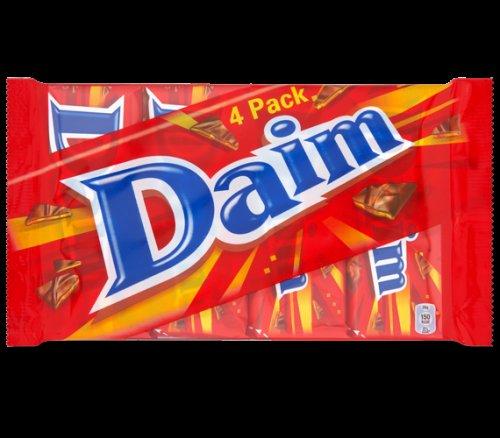 4 daim bars - 75p @ Cadburys (East Midlands Designer Outlet)