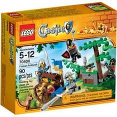 Lego Forest Ambush (70400). Was £9.99. Now £5.99. Save £4 (enter code HOME25 at checkout for free delivery) @ argos.co.uk