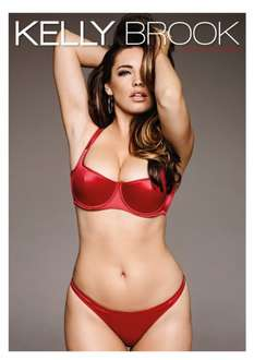 Kelly Brook Calendar 2015 @ Clintoncards was £8.99 now £4.50
