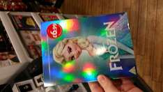Frozen DVD  with the limited edition Elsa sleeve.  £6.99 @ Argos