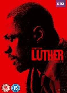 Luther Season 1-3 DVD @ Zavvi includes free delivery.£9.99