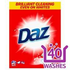 Daz 40 washes £3 at Tesco Surrey Quays