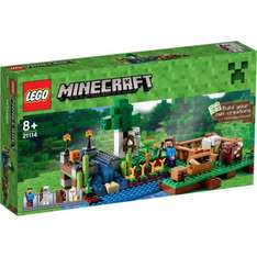 Lego Minecraft: The Farm NOW £24.99 delivered at The Hut