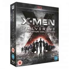 X-Men And The Wolverine Adamantium Collection (Blu-Ray & 3D Blu-Ray with UV copy) - £15 at Play/Foxdirect