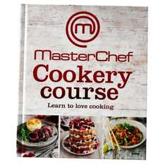Masterchef Cookery Course Book £7 @ The Works.