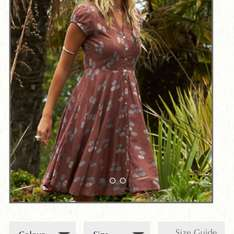 Nomad vintage dress was £70 now £21 12+ sizes