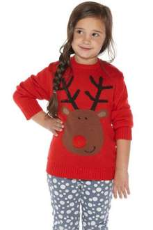 Unisex Reindeer Christmas Jumper studio £6.99 from 18 pounds plus £4.99 P&P @ 24studio
