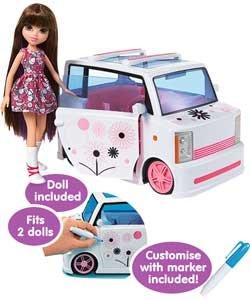Moxie Girlz Art-titude Car and Doll Playset £19.79 @ Argos